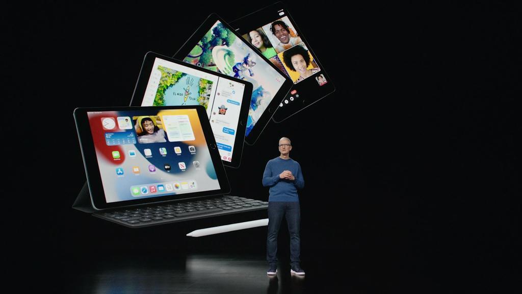 Vorstellung des neuen iPads von Apple