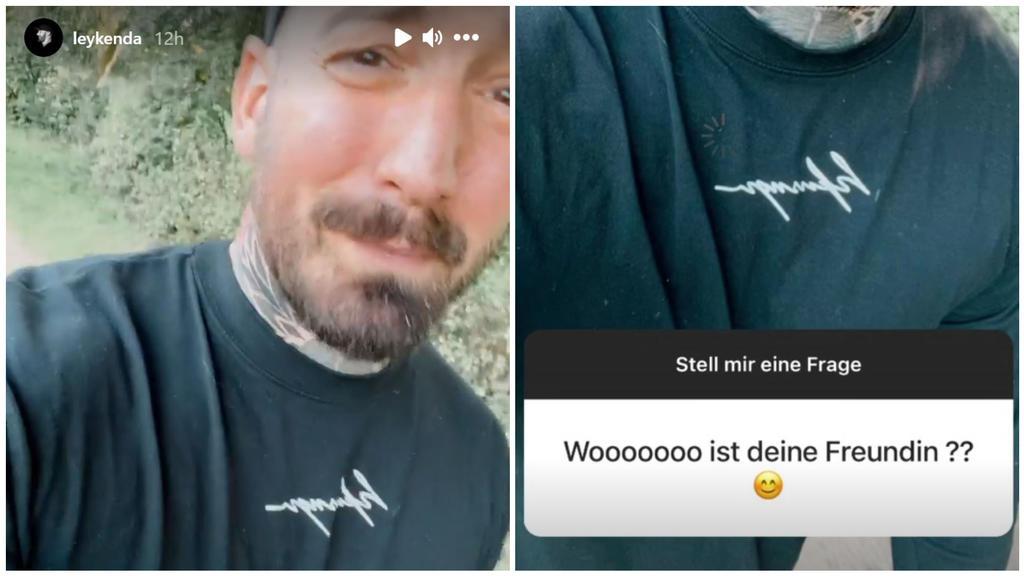 Jan Leyk enthüllt die Trennung in einer Instagram-Fragerunde.