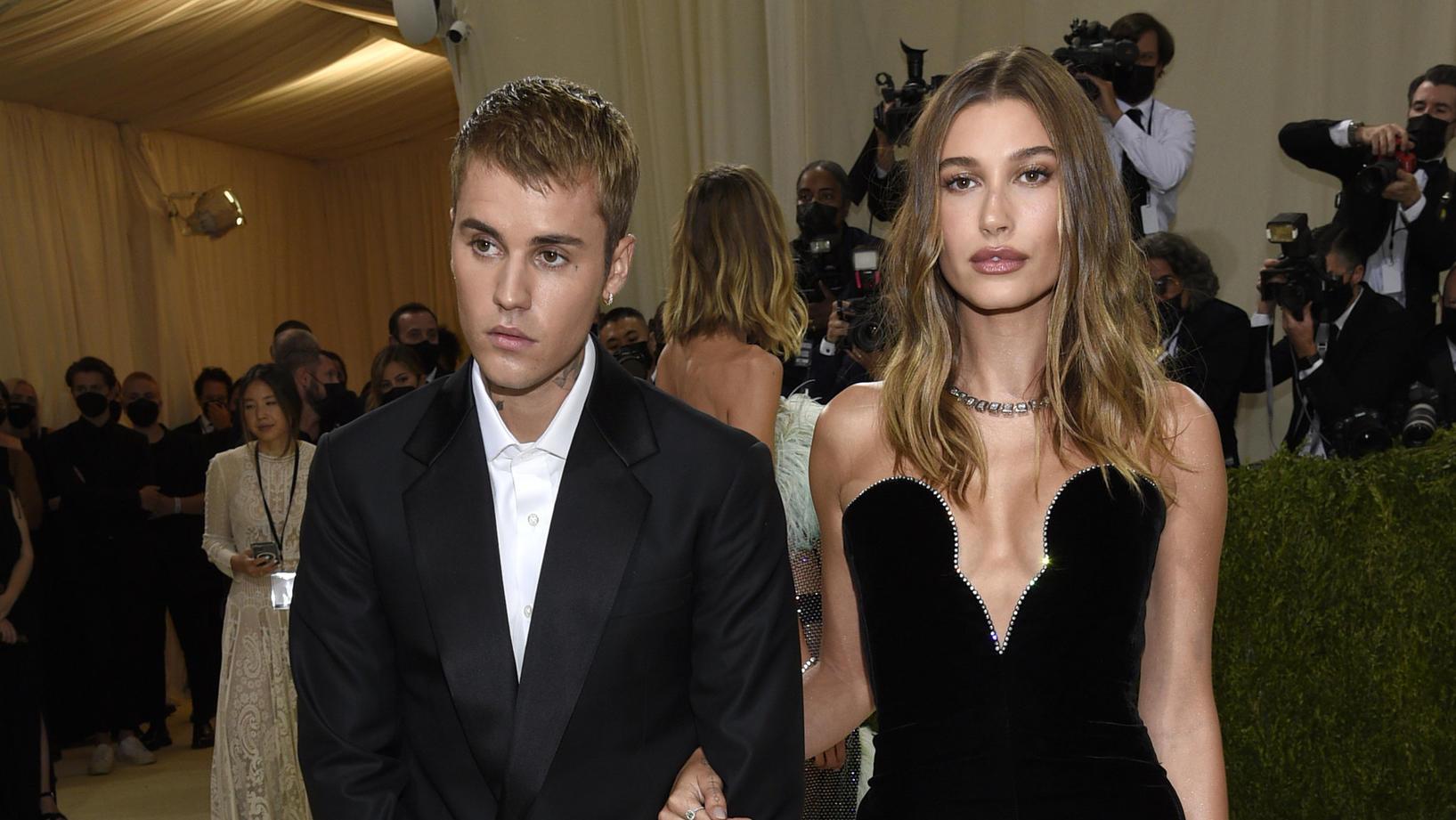 Justin und Hailey Bieber stylisch auf der Met Gala unterwegs