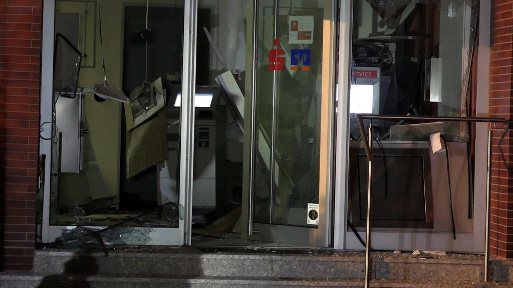 Geldautomat in Pfungstadt gesprengt