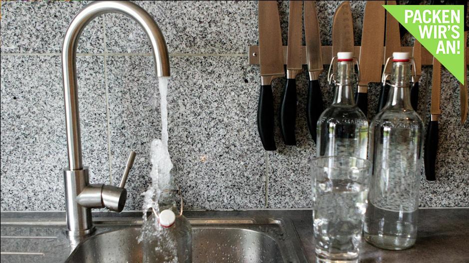 Wassersparen in Küche und Garten