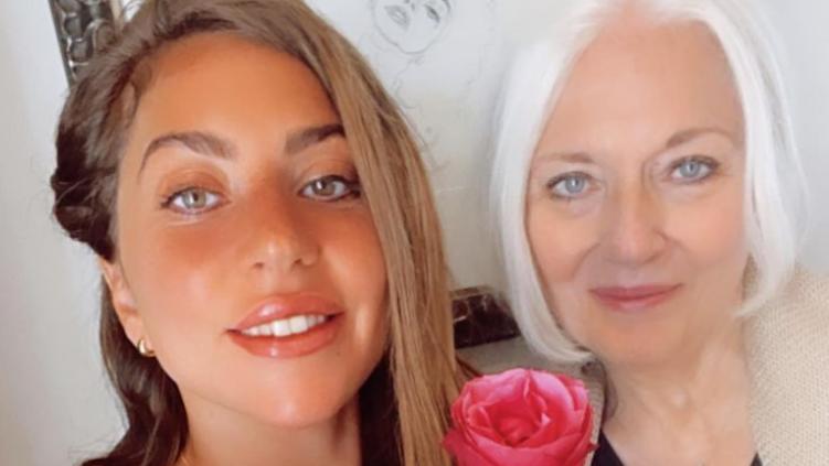 Lady Gaga mit ihrer Mutter
