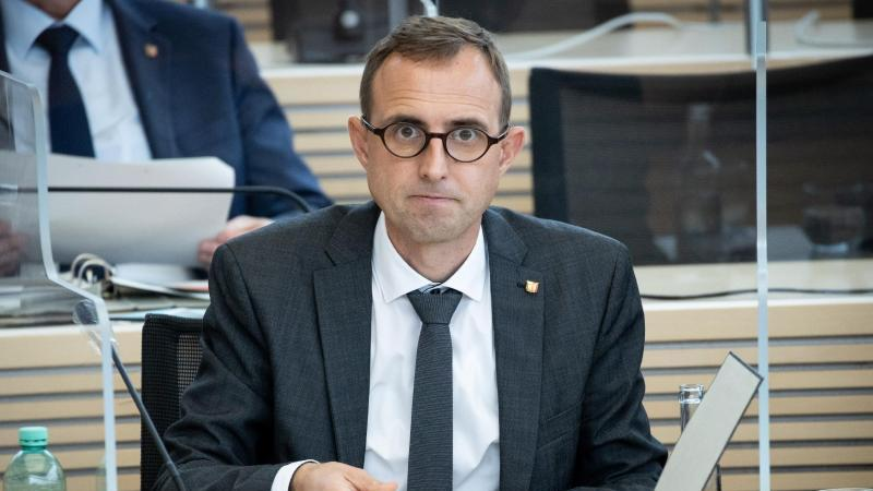 Dirk Schrödter (CDU), Leiter der Staatskanzlei. Foto: Christian Charisius/dpa/Archivbild