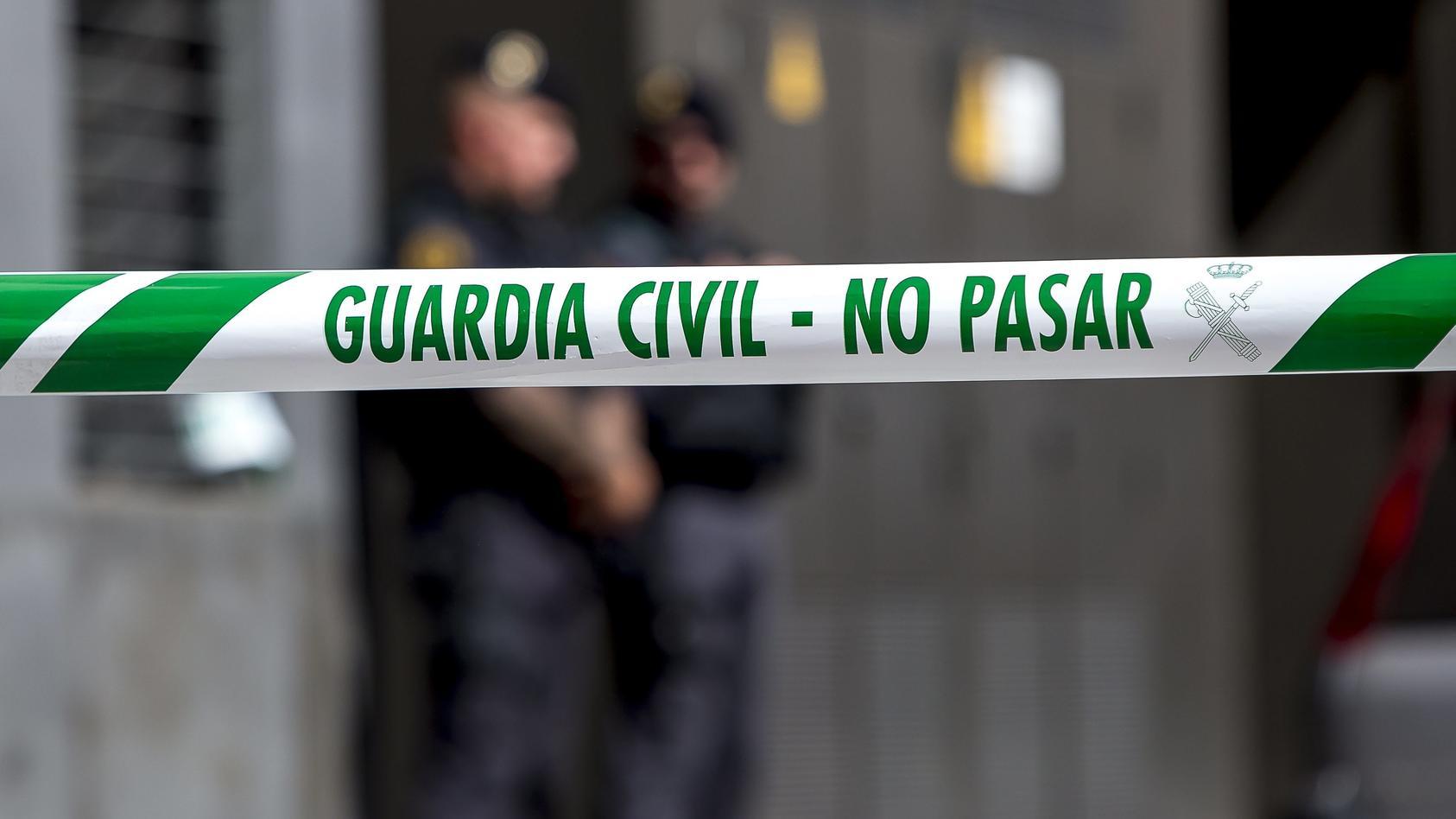 Guardia Civil Operation Against Catalan Activist In Barcelona