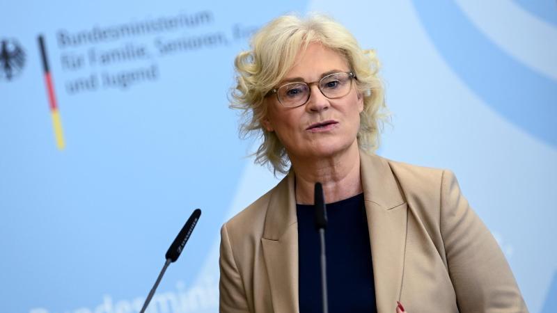 Christine Lambrecht (SPD), Bundesministerin der Justiz und für Verbraucherschutz. Foto: Britta Pedersen/dpa/Archivbild
