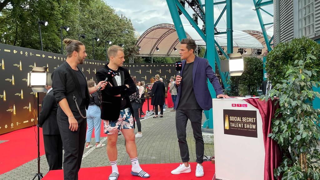 """Oliver Pocher beim """"Deutschen Fernsehpreis"""" 2021"""