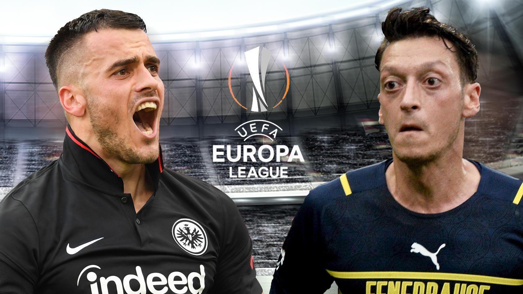 Mesut Özil traf für Fenerbahce Istanbul beim Spiel in Frankfurt