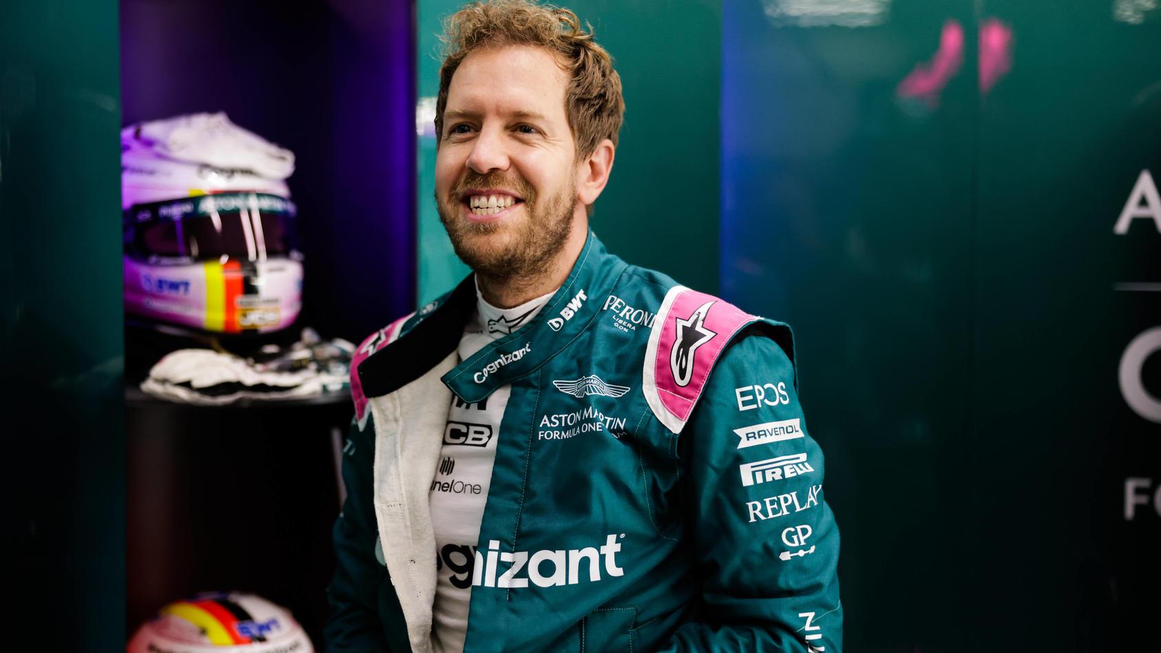 Sebastian Vettel fährt auch 2022 für Aston Martin in der Formel 1.