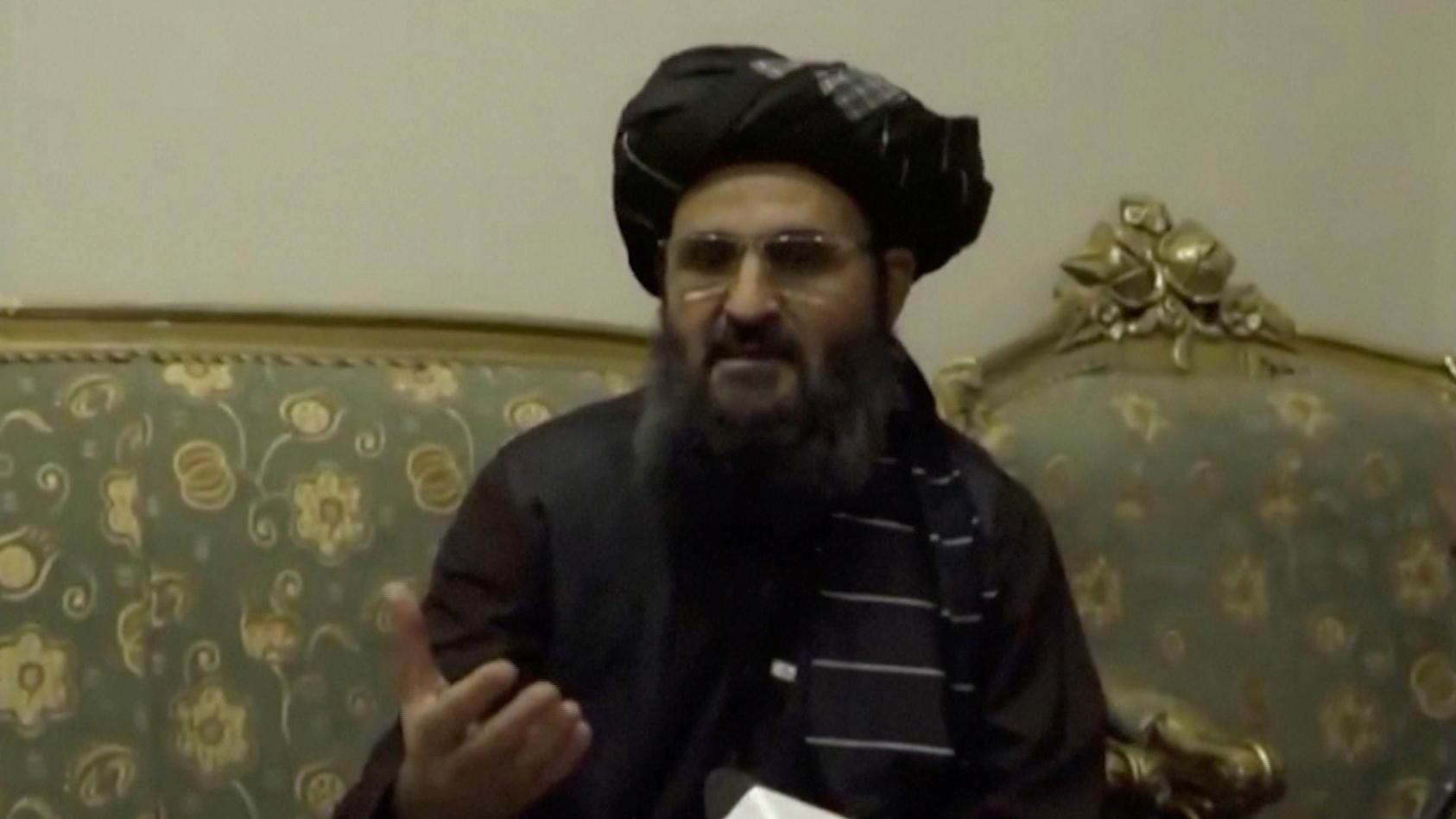 Tagelang war Abdul Ghani Baradarvon der Bildfläche verschwunden.
