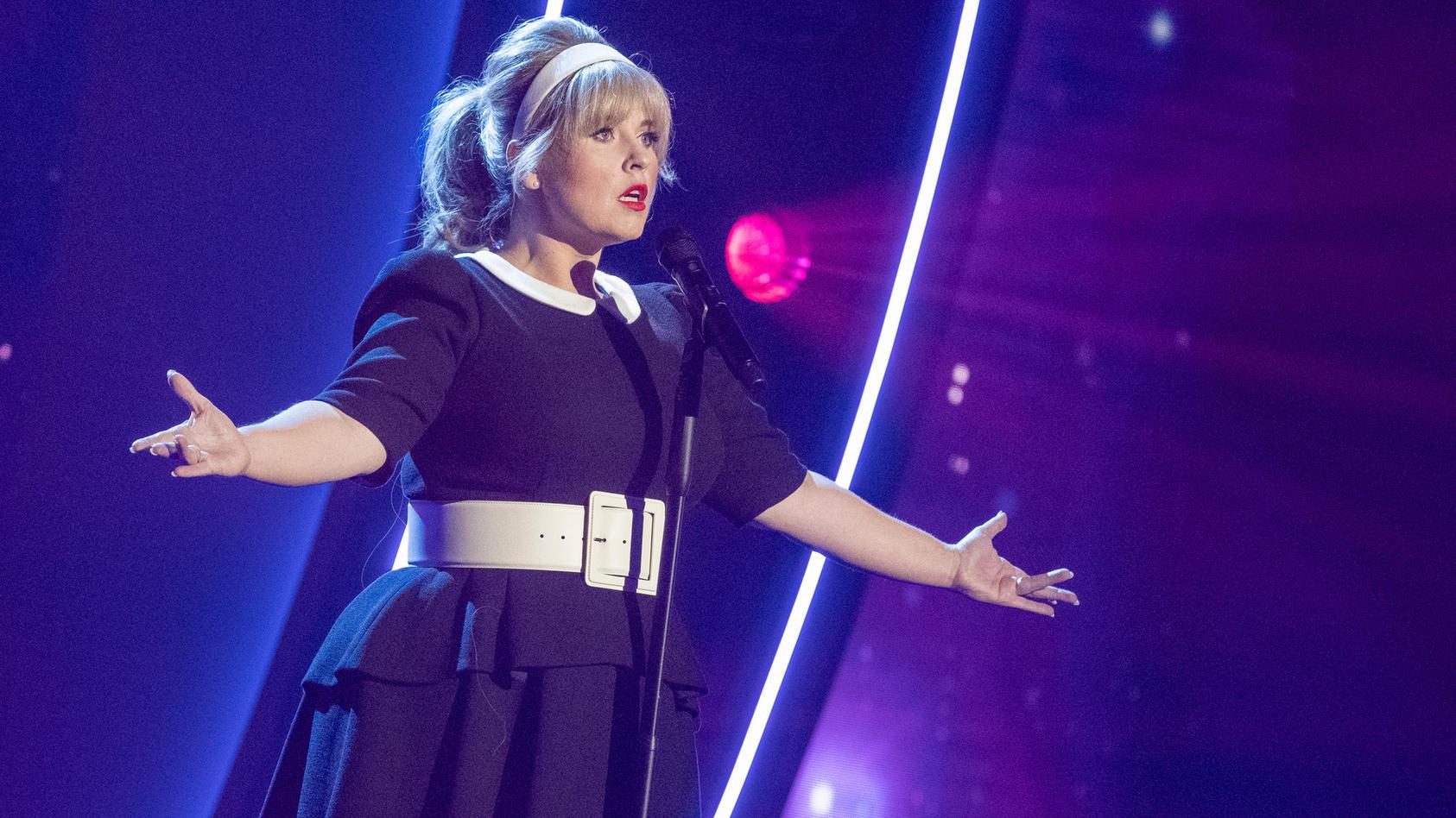 Maite Kelly bei ihrem Auftritt bei der Giovanni Zarella Show.