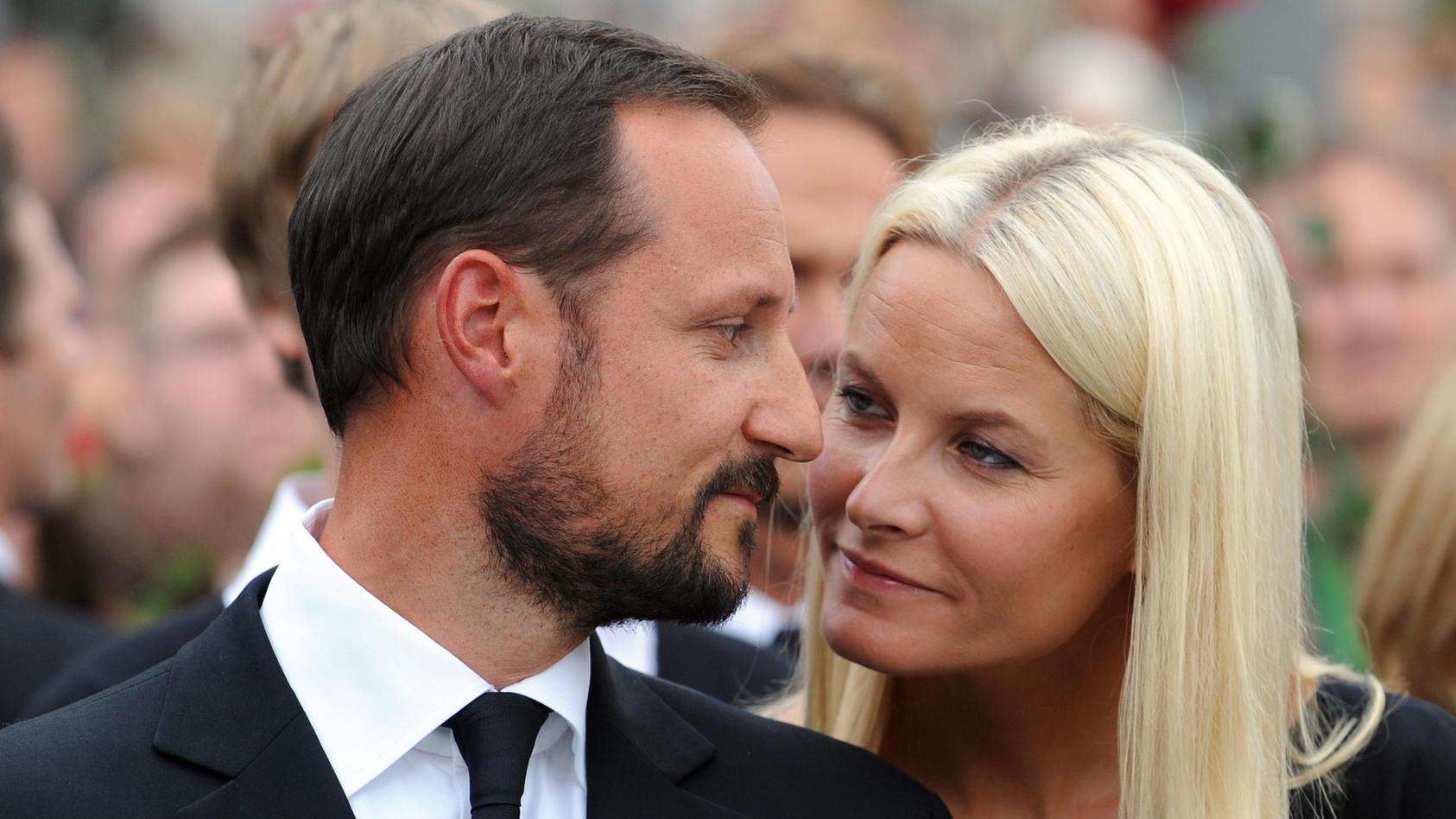 Kronprinzenpaar Haakon und Mette-Marit