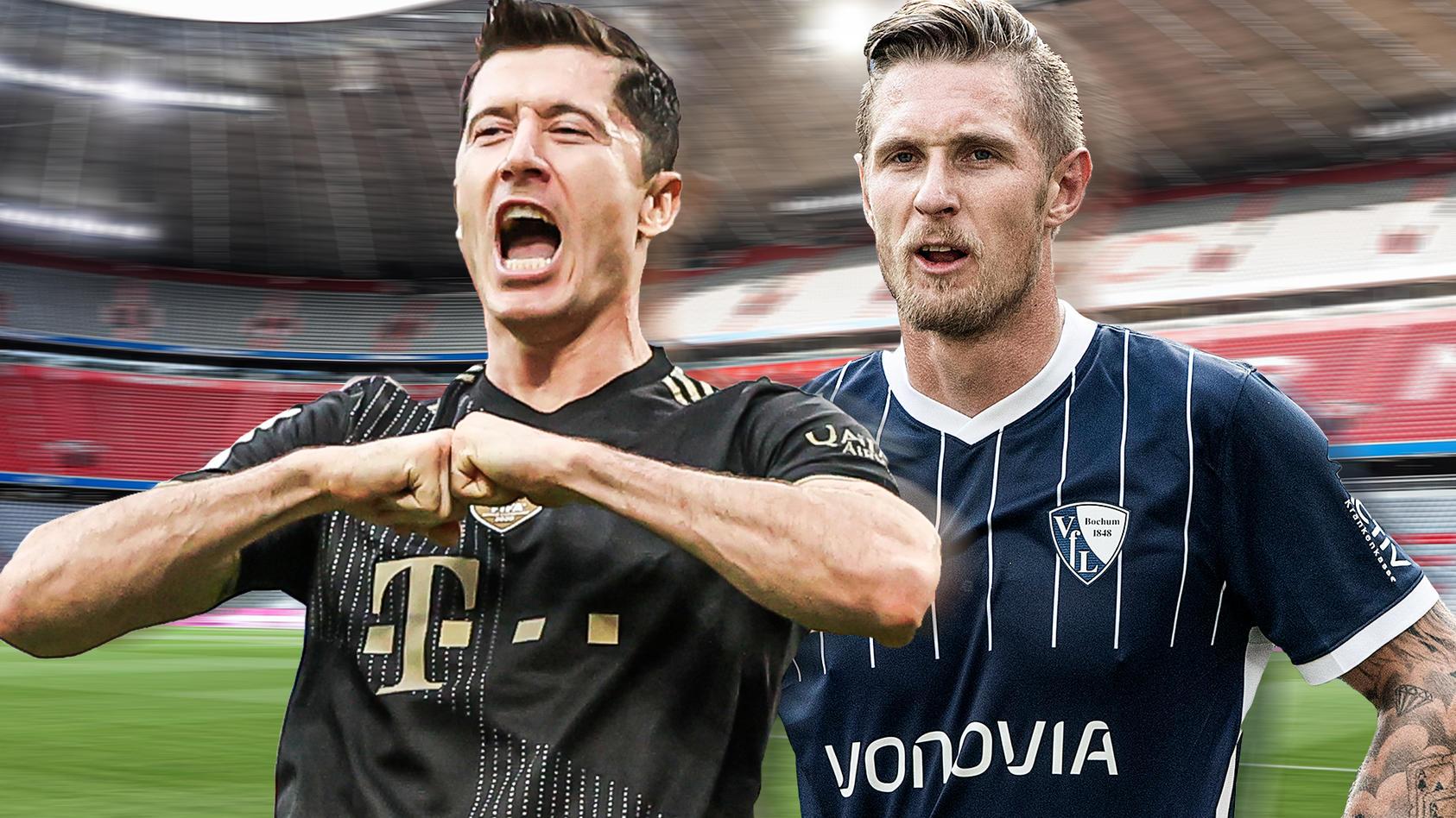 Der FC Bayern empfängt Underdog VfL Bochum.