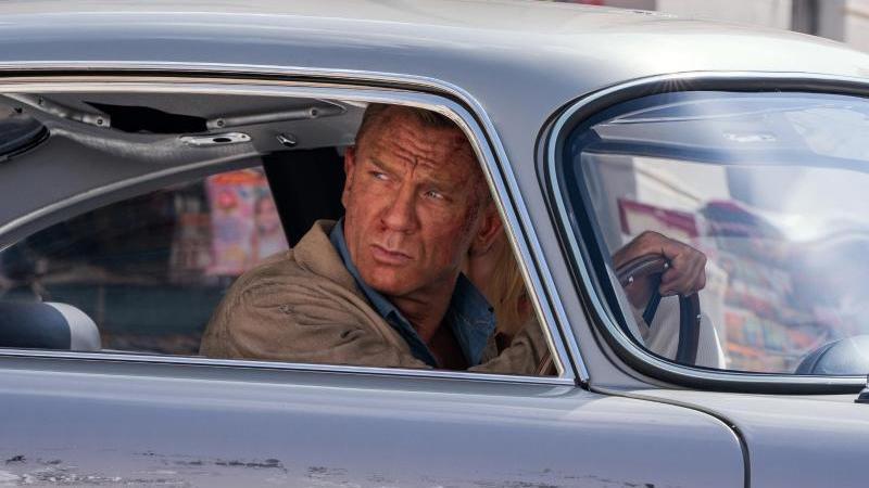 """Ab dem 30. September ist Daniel Craig zum fünften und letzten Mal als James Bond im Kino zu sehen - in """"Keine Zeit zu sterben"""". Foto: Nicola Dove/EON Productions/Metro-Goldwyn-Mayer Studios/dpa"""