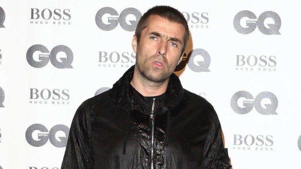 Liam Gallagher spielte am Wochenende beim Isle of Wight Festival im britischen Newport.