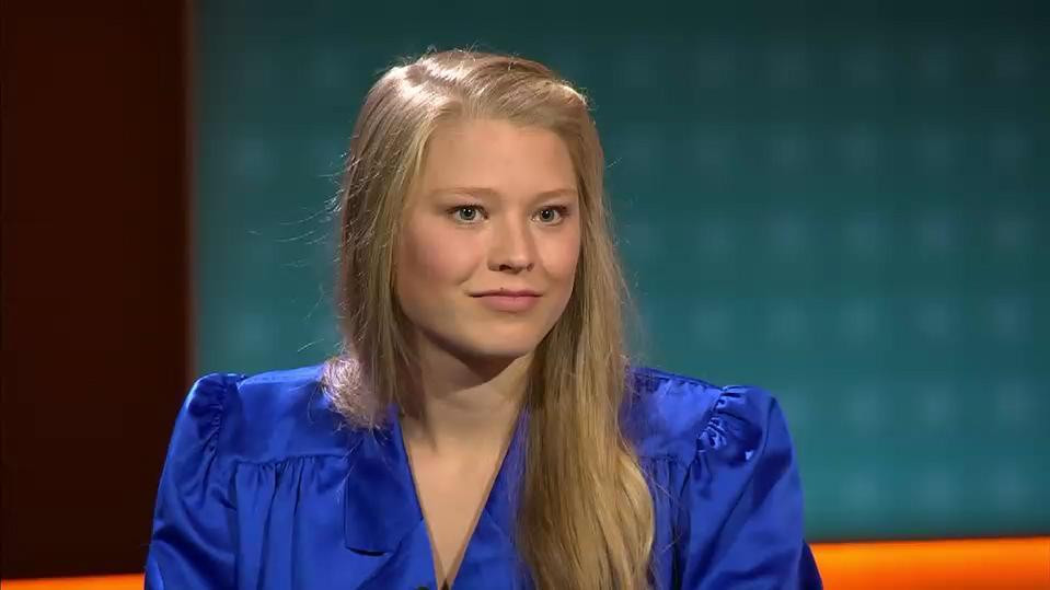 """Studentin Arian Feigl-Berger beim RTL-Format """"Am Tisch mit Armin Laschet"""""""