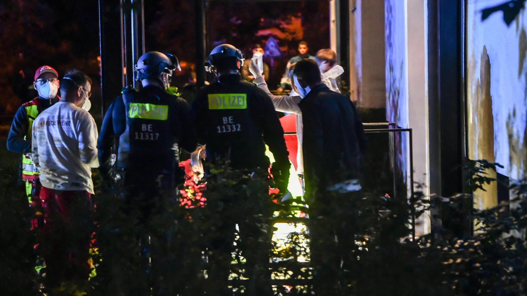 Zwei Menschen in Berlin-Lichtenberg wurden durch Schüsse verletzt