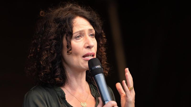 Bettina Jarasch (Bündnis 90/ Die Grünen), Kandidatin für das Amt der Regierenden Bürgermeisterin. Foto: Christophe Gateau/dpa/Archivbild
