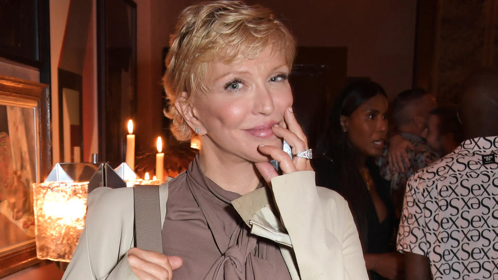 Courtney Love bei der Perfect Magazine and NoMad London Fashion Week Party im September 2021