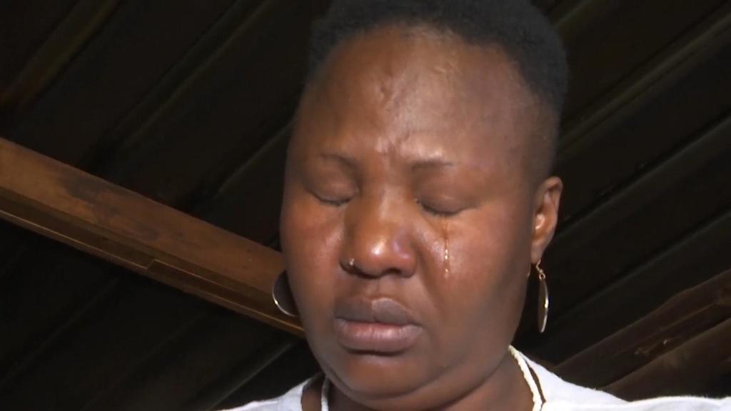 Mandy Sibanyoni passte auf die Kinder auf - und kann kaum fassen, was passiert ist.