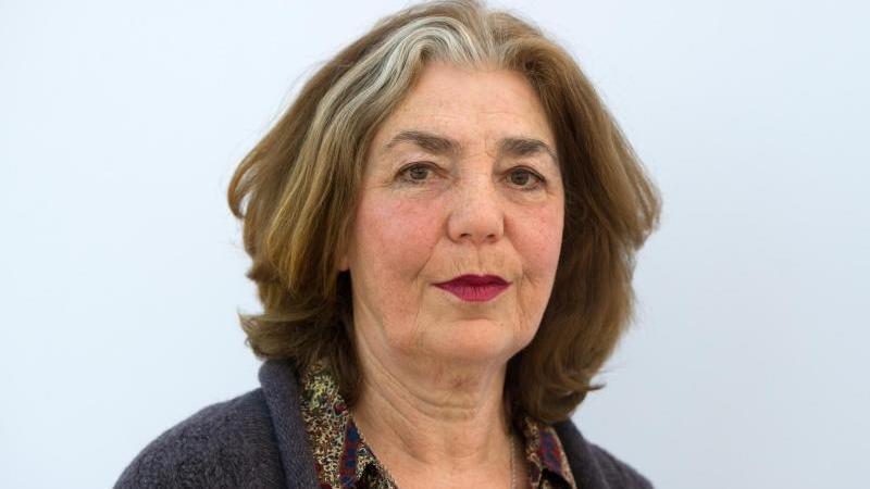 Die deutsche Schriftstellerin Irina Liebmann. Foto: Marc Tirl/dpa-Zentralbild/dpa/Archivbild