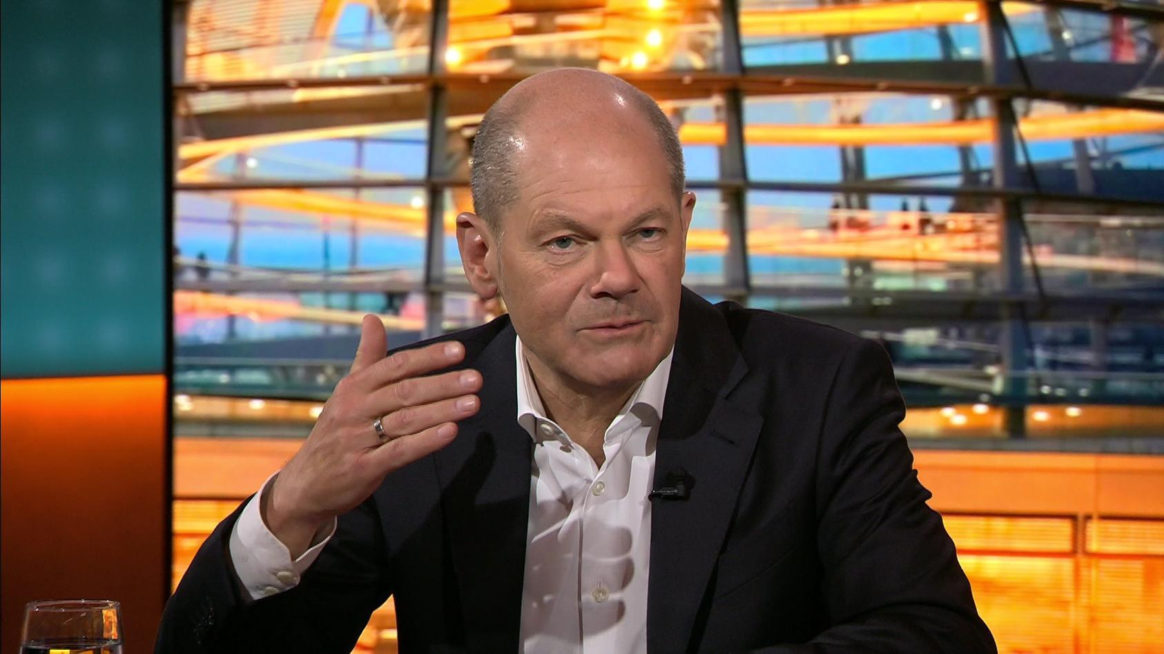 Am Montagabend stellte sich SPD-Kanzlerkandidat Olaf Scholz den Fragen der Zuschauer