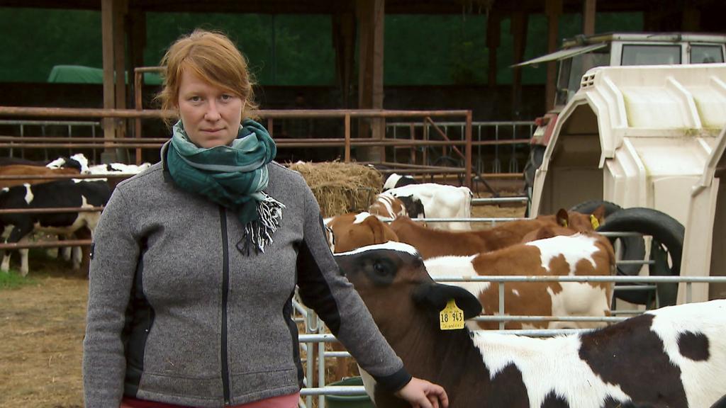 Landwirtin Elena Zydek wünscht sich mehr Regulierung und Unterstützung von der Politik.