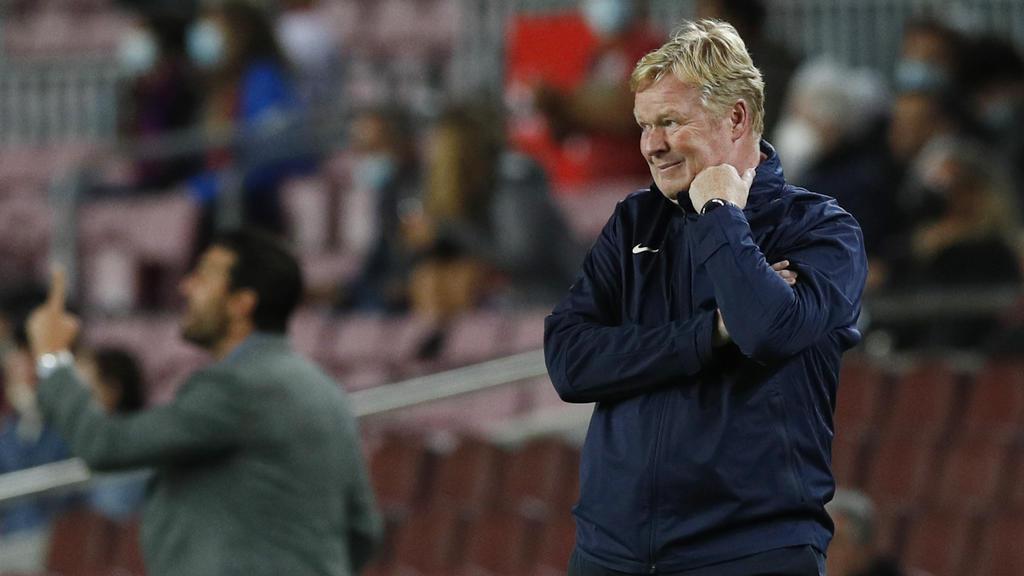 Fast-Blamage und Mega-Fauxpas von Coach Ronald Koeman; Der FC Barcelona wankt in gigantische Krise