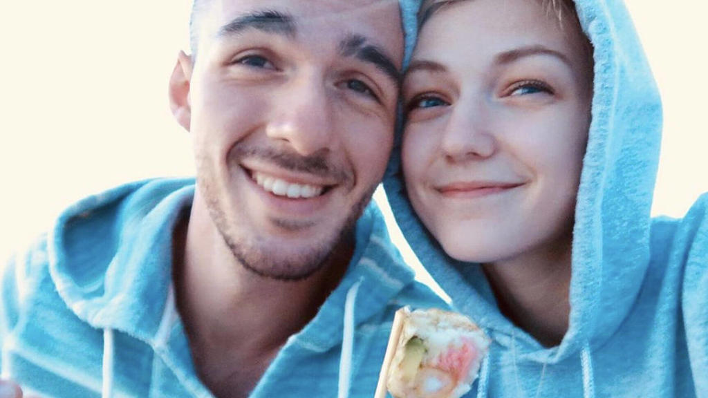 Brian Laundrie und Gabby Petito.
