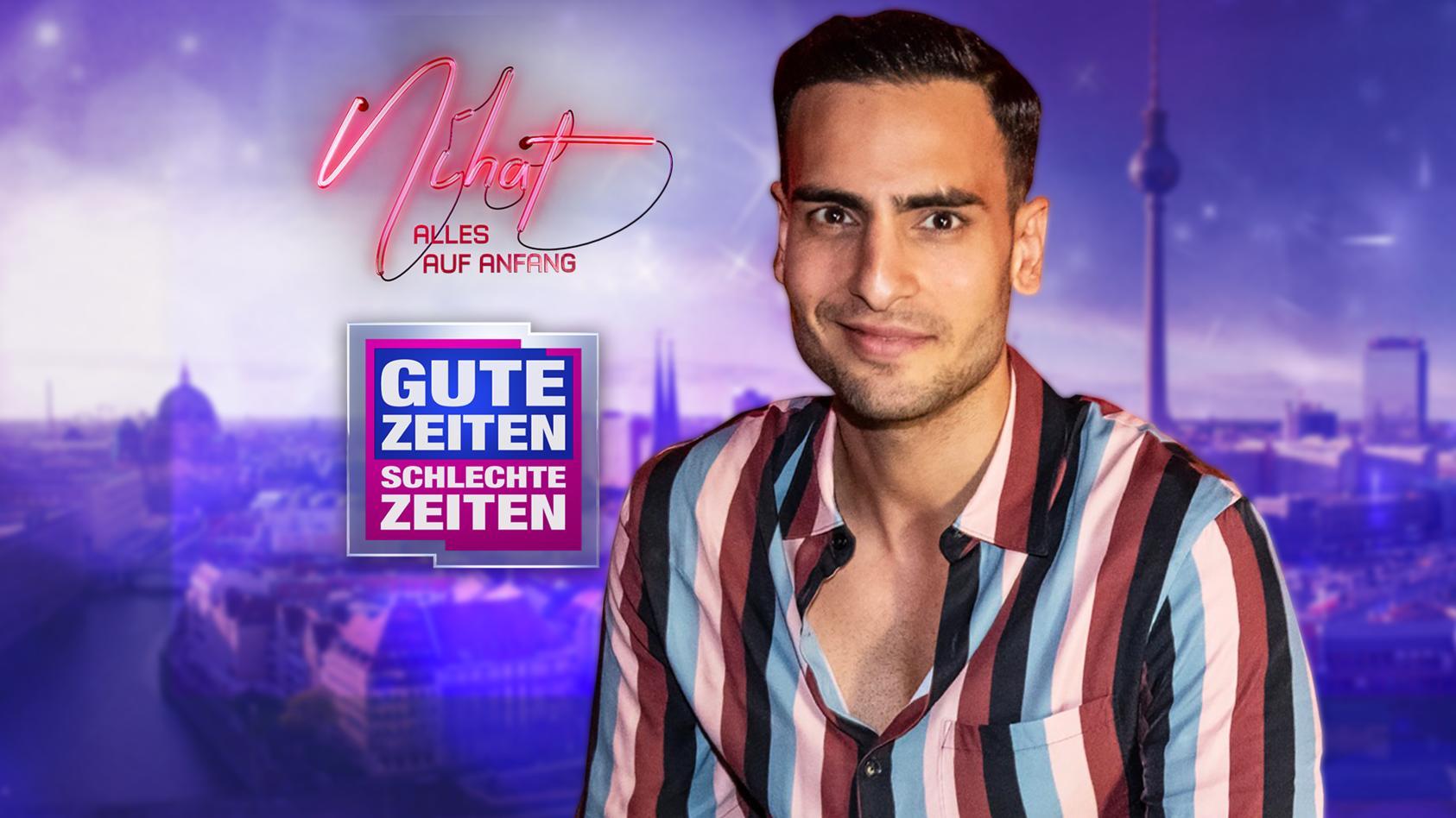 """Timur Ülker spricht im Livestream über seine erste eigene Serie, das GZSZ-Spin-off """"Nihat - Alles auf Anfang""""."""