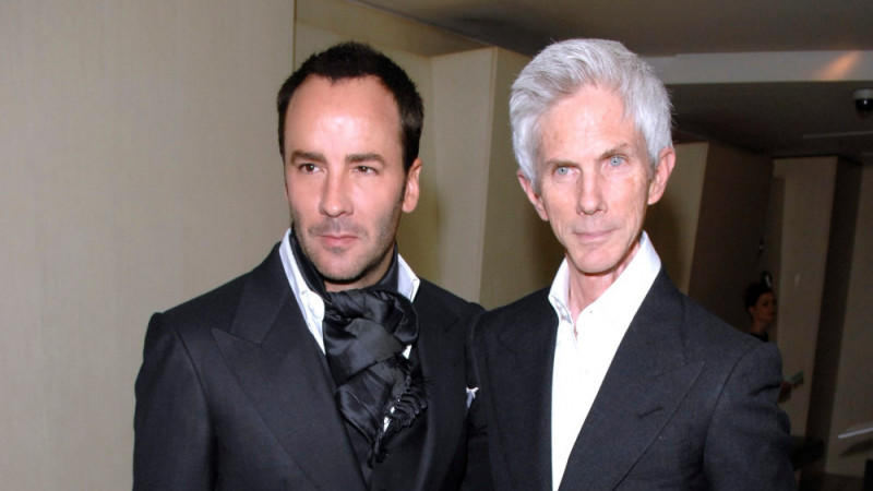 Tom Ford und Richard Buckley