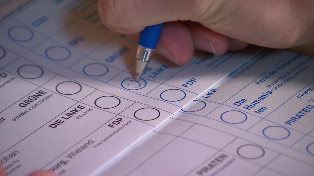 Ein Smiley auf dem Stimmzettel könnte für Verwirrung sorgen.