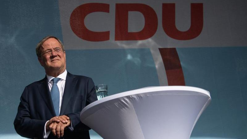 Armin Laschet, Kanzlerkandidat der CDU. Foto: Sebastian Gollnow/dpa
