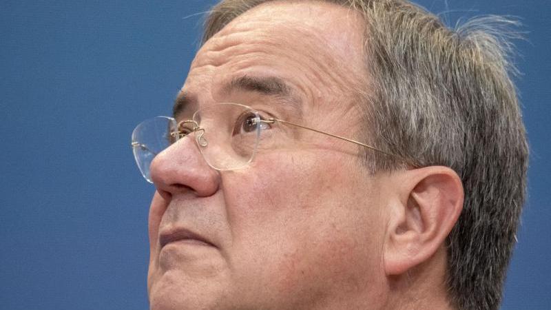 Armin Laschet, Unions Kanzlerkandidat. Foto: Michael Kappeler/dpa/Archivbild