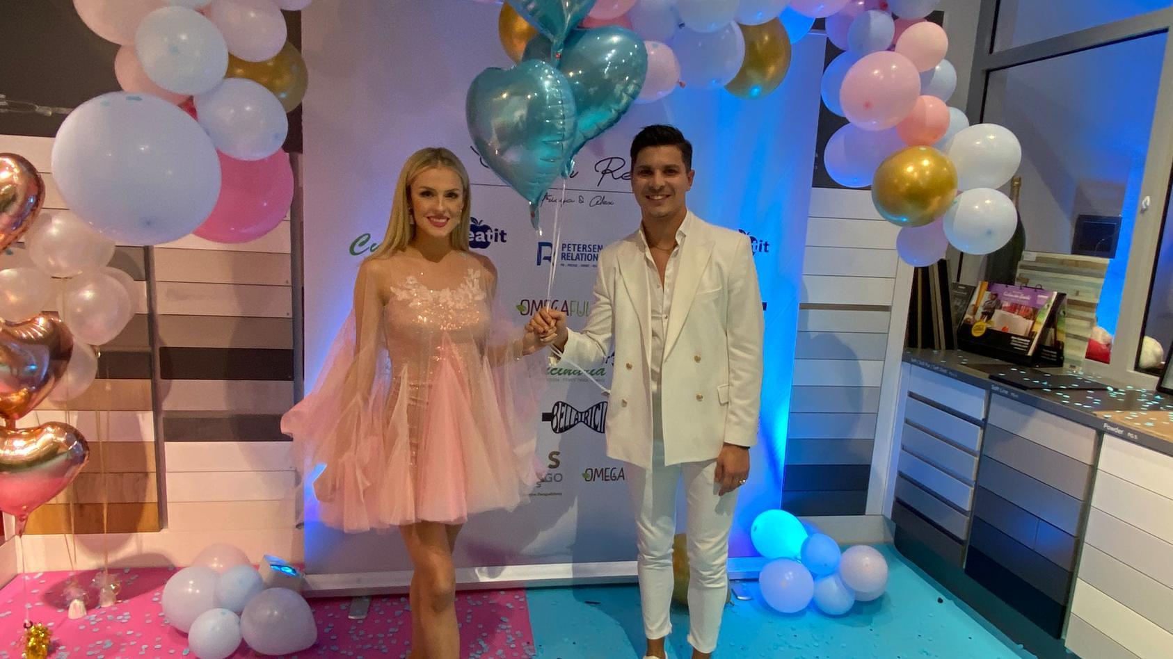 Patricija und Alexandru sind überglücklich: Es wird ein Junge!