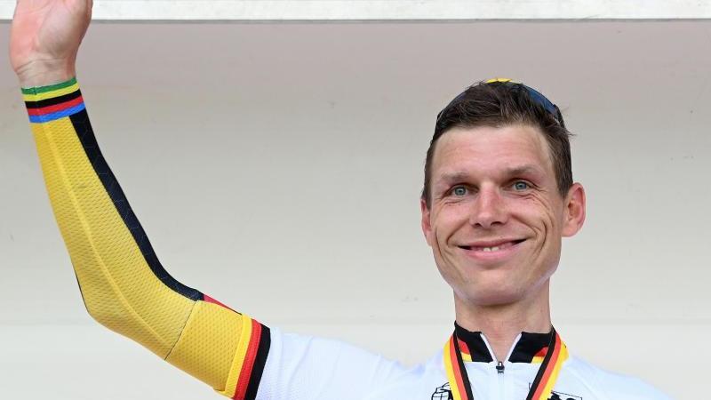 Bestreitet bei der WM sein letztes Rennen vor der Radsport-Rente: Tony Martin. Foto: Bernd Weißbrod/dpa