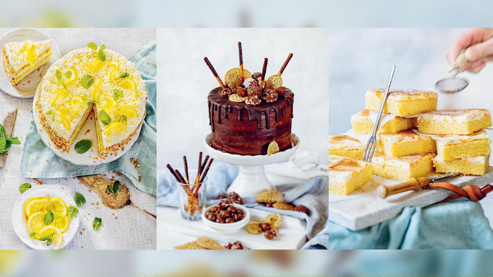 Tanja Gruber hat's raus, wie man Kuchen und Torten glutenfrei bäckt.