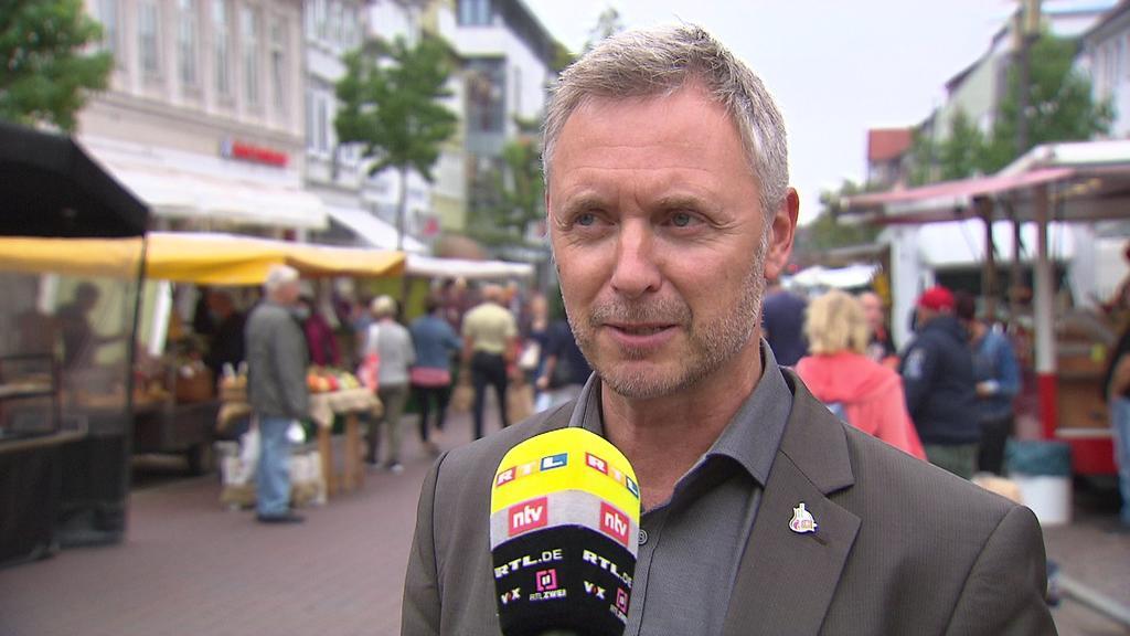 Uelzens Bürgermeister Jürgen Marktwardt (parteilos)