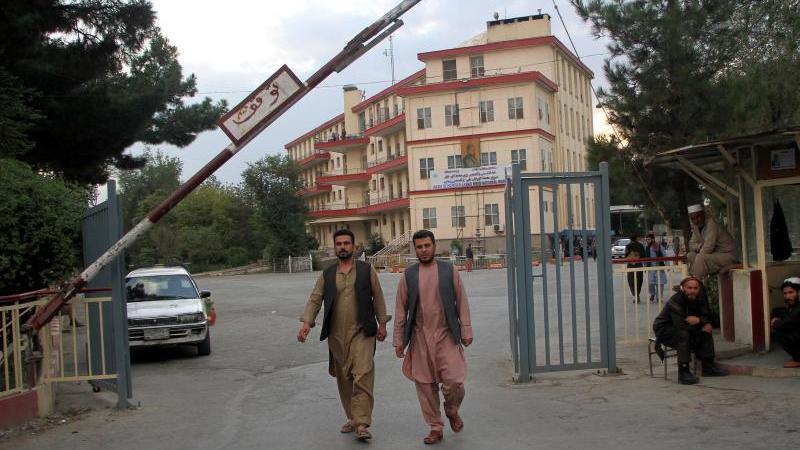 Das Wazir Akbar Khan Krankenhaus in Kabul. Foto: -/XinHua/dpa