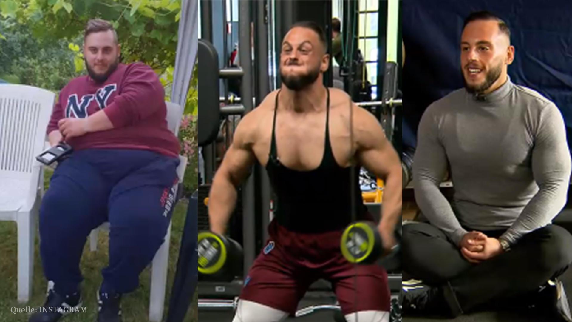 Gewicht halbiert! - Mann nimmt über 90 Kilo ab