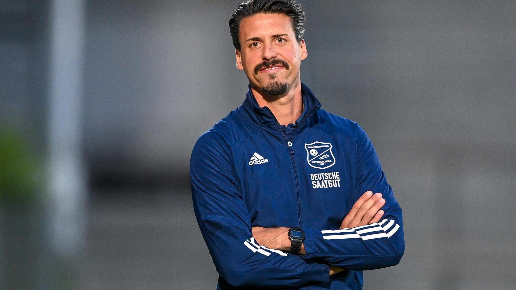 Trainer Sandro Wagner.