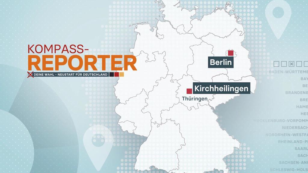 Der RTL-Wahl-Kompass zeigt am letzten Tag, was die Menschen im Osten der Region bewegt.