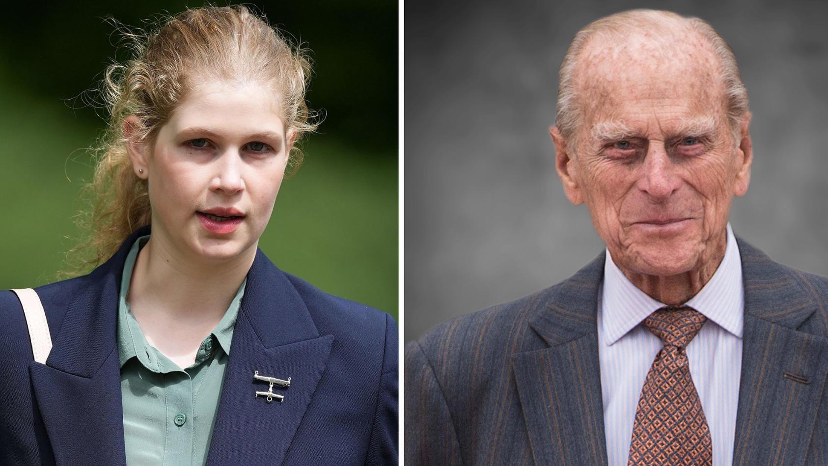 Lady Louise hatte einen besonderen Draht zu ihrem Großvater Prinz Philip.