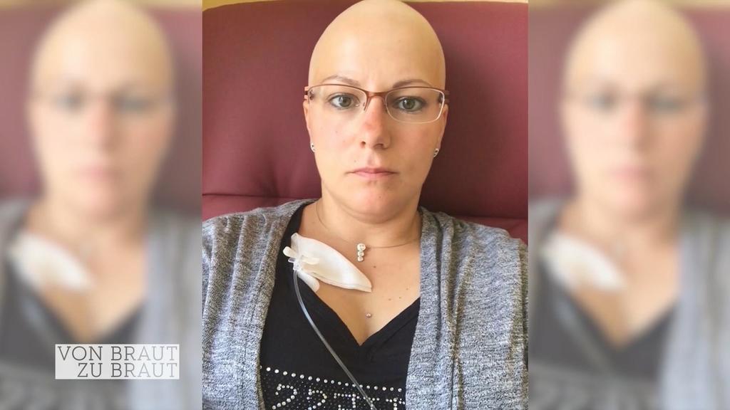 Katja in der Zeit ihrer Krebs-Reha
