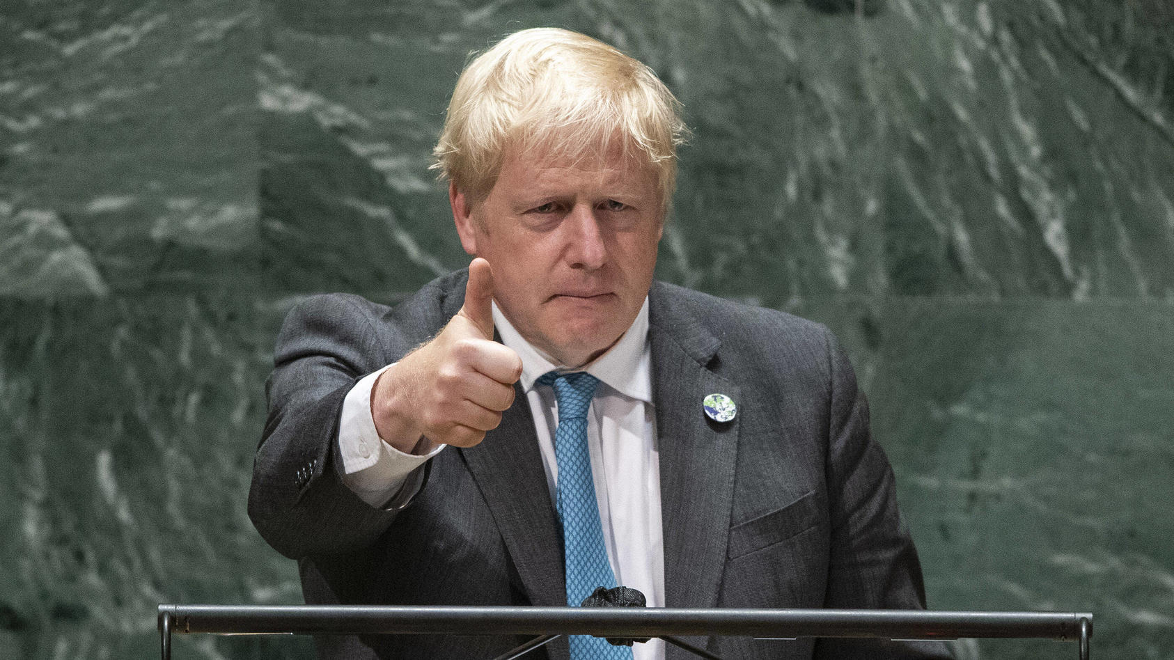 """Über Muppets, Brownies und den Klimawandel - auf der UN-Vollversammlung gab es ein paar amüsante Zitate von """"Boreas"""" Johnson."""