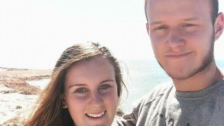 Jess und ihr Partner Kilian haben letzten Monat geheiratet.