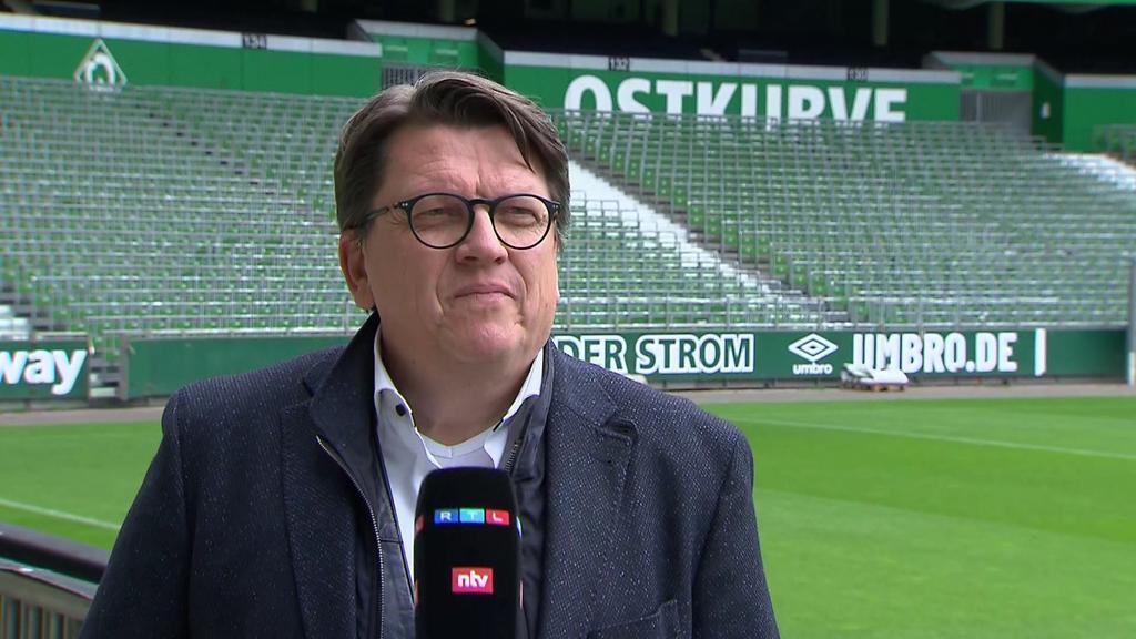 Werder-Präsident Hubertus Hess-Grunewald