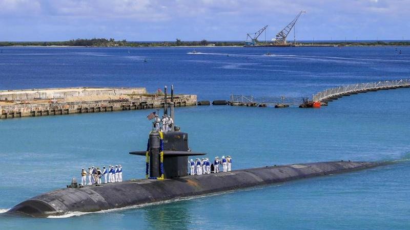 Mit einem neuen Sicherheitspakt im Indopazifik haben die USA, Großbritannien und Australien Verbündete vor den Kopf gestoßen. Foto: Mc3 Naomi Johnson/US Navy Office of Information via AP/dpa