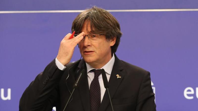Carles Puigdemont wurde in Italien festgenommen. Foto: Benoit Doppagne/BELGA/dpa
