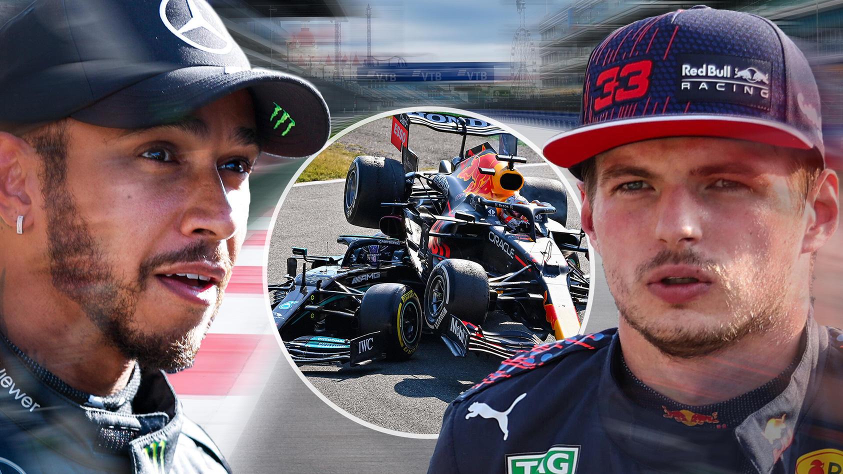 Lewis Hamilton und Max Verstappen treffen nach ihrem Crash in Monza beim Russland-GP wieder aufeinander