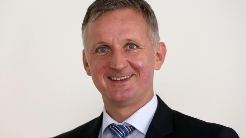 Christian Schmidt, Chef der Universitätsmedizin Rostock. Foto: Bernd Wüstneck/dpa-Zentralbild/dpa/Archivbild